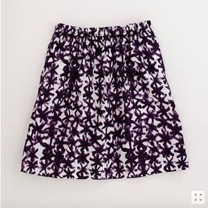 J. CREW FACTORY Bell Skirt Printed Cotton Floral
